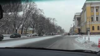 Автонакат - Повороты на перекрестках.