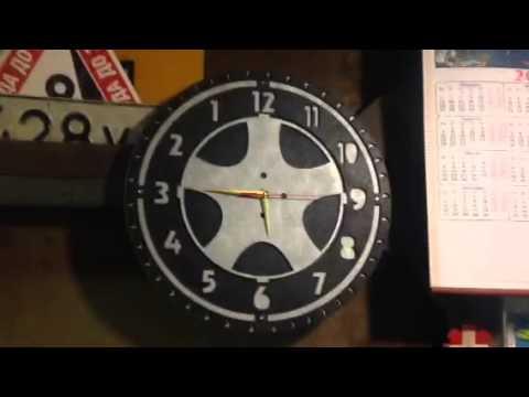 Часы с обратным ходом - YouTube