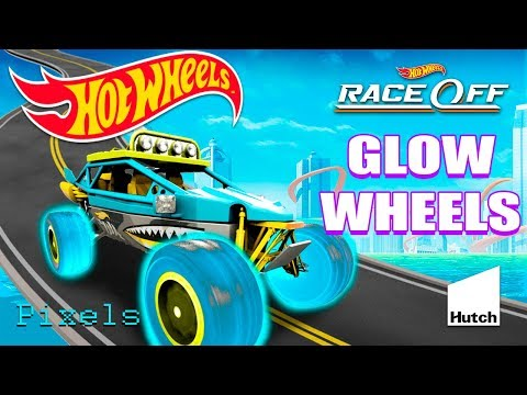 Hot Wheels Race Off - Daily Challenge GLOW WHEELS