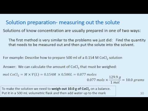 unit 10  Solutions and colloids  slides 19 35