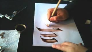 tipos de escritura segun la pluma