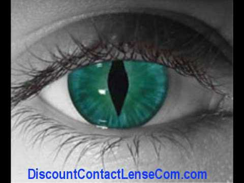 Cat Eye Contacts Youtube
