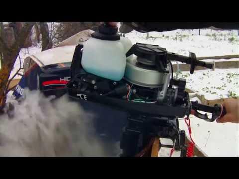 лодочный мотор HDX 2.6 мое мнение