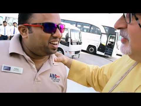 Meeting Discover Arabia Man Mohammad Sadhik in Abu Dhabi Mina Zayed Port 23.10.2017