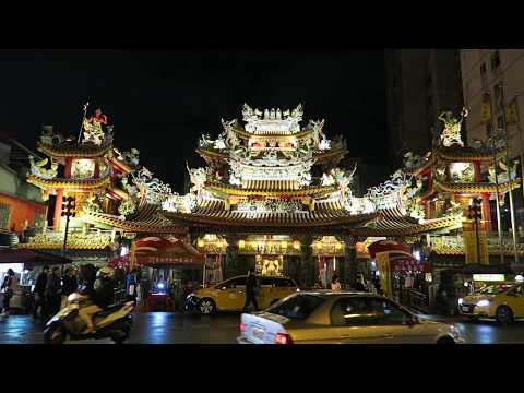 Taipei - Street food at Raohe Night Market and Ciyou Temple