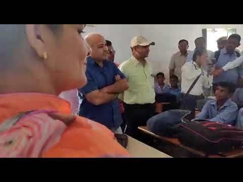 Delhi CM Arvind Kejriwal Visit Govt. School of Hisar Haryana
