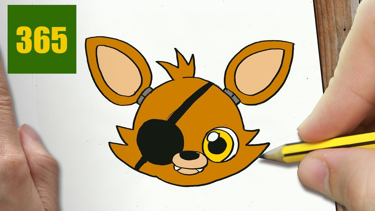 Comment Dessiner Foxy Kawaii Etape Par Etape Dessins Kawaii Facile