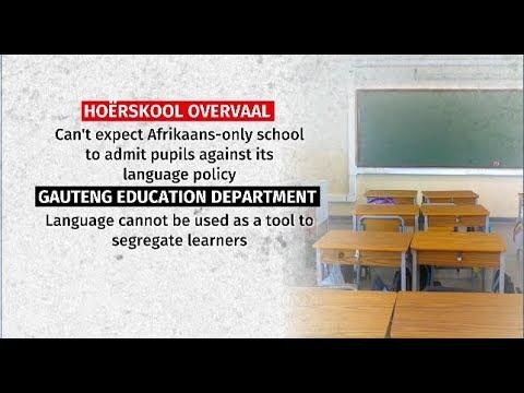 Gauteng Education, Hoerskool Overvaal dispute back in court
