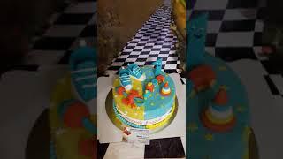 видео детские торты в