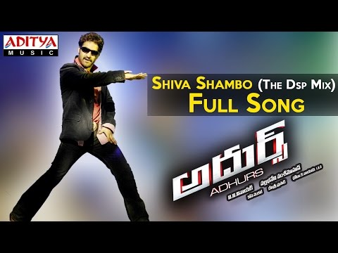Shiva Shambo The Dsp Mix Full Song II Adhurs Movie II Jr.Ntr, Nayantara, Sheela