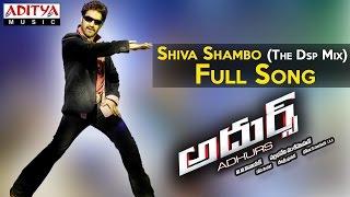 Shiva Shambo The Dsp Mix Full Song II Adhurs Movie II Jr.Ntr, Nayantara, Sheela