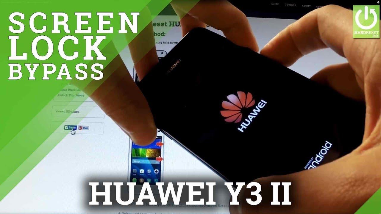 Hard Reset HUAWEI Y3 II - HardReset info