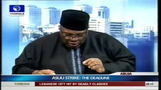 ASUU Strike: Fresh Demands Do Not Make Sense -- Okupe. PT1