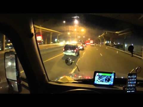 1076 Dallas night traffic