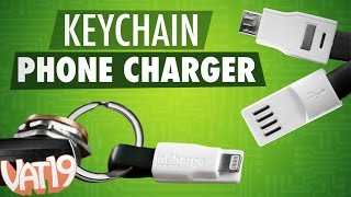 Tiny Keychain Phone Charging Cable