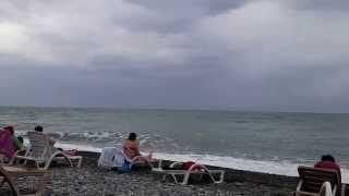 Лоо 24 октября 2015 пляж Аквалоо