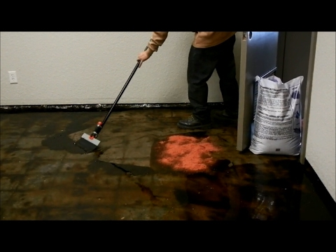How To Remove Black Mastic Or Carpet Glue From A Concrete