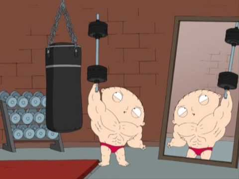 stewie on steroids youtube