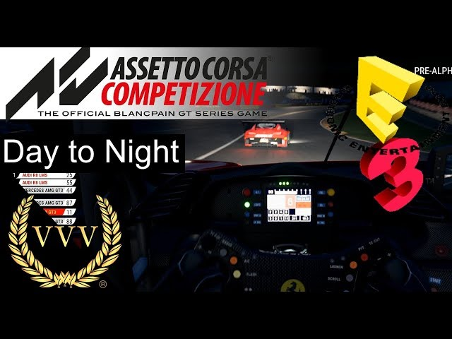 Assetto Corsa Competizione - Spa, Day to Night - E3 2018