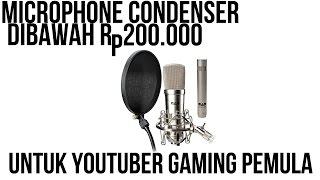 Microphone untuk Youtuber Gaming Pemula