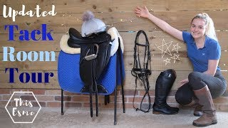 Updated TACK ROOM TOUR! | This Esme