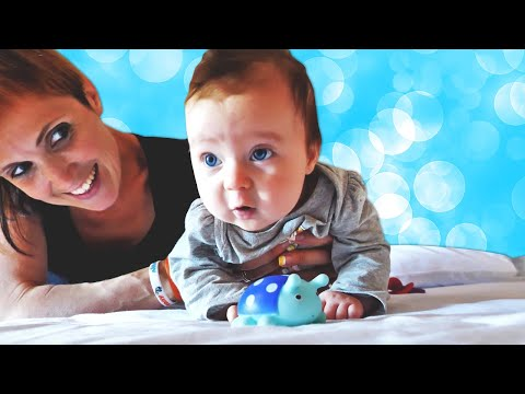 Baby Morning Routine and Dress Up with Baby doll: Funny Baby Videos