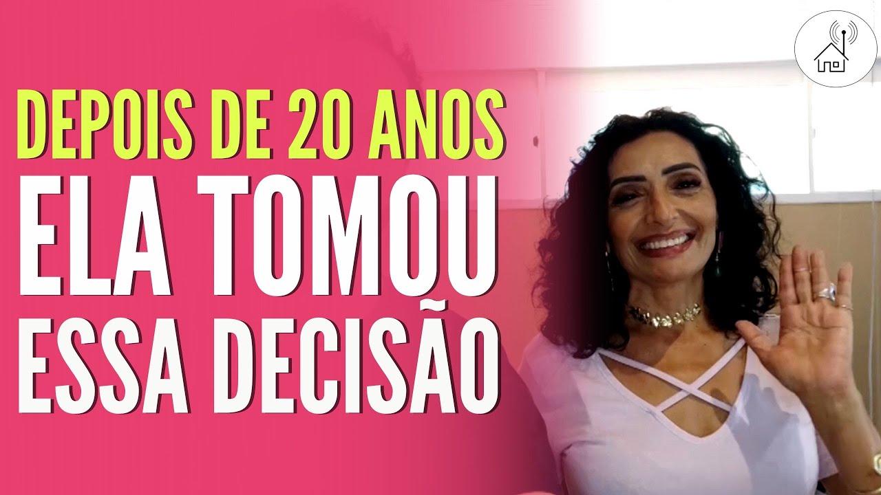 DEPOIS DE 20 ANOS ELA CONSEGUIU TOMAR ESSA DECISÃO