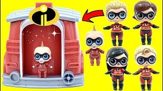 The Incredibles 2 Custom LOL SURPRISE DOLLS  Magical Pup House Superhero Transformation