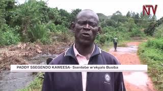 Omugga Ssezibwa gubooze negwanjaala, entambula ekalubye