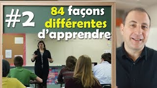 Les profils d'apprentissage : 84 façons différentes d'apprendre !