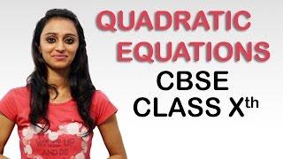 Quadratic Equations Ex 4.2 Q - 1 (i, ii & iii), Class 10 Maths NCERT