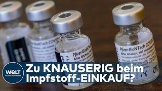 Die europäische union hätte nach einem «spiegel»-bericht mehr von dem corona-impfstoff der hersteller biontech und pfizer kaufen können als bestellten bi...