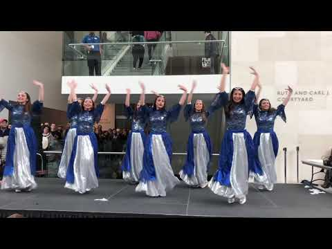 Persian Dance: Aftab Dance Group 2018 Norouz Performance at Museum of Fine Arts, Boston, USA
