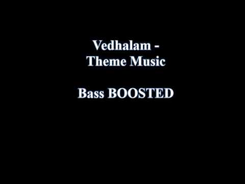 Vedhalam  - Theri Theme [BASS BOOSTED]