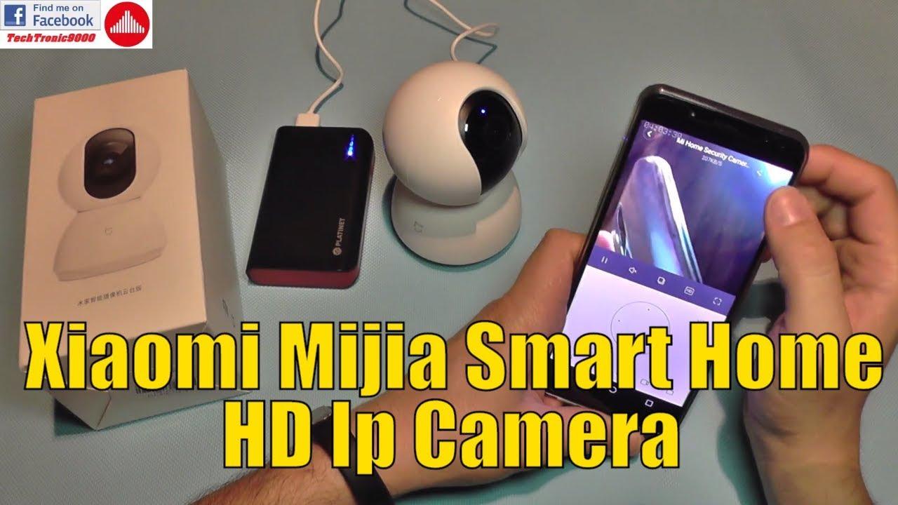 Xiaomi Mijia 360 Smart Home HD IP camera - Review & Setup Guide