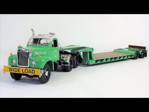 1:25 Mack B-61 Lowboy US Forest Service by First Gear