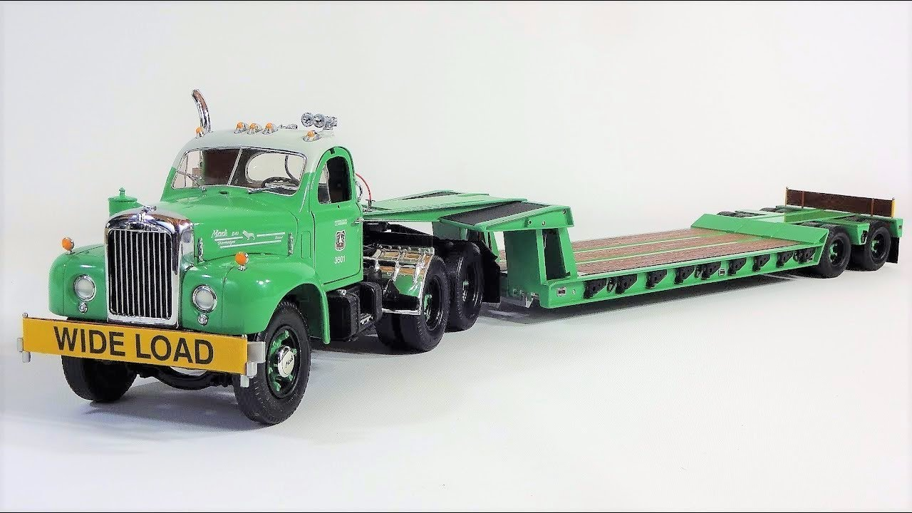 1 25 Mack B 61 Lowboy Us Forest Service By First Gear