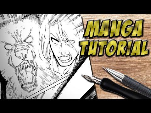 Eine MANGA Seite zeichnen [KOMPLETTES TUTORIAL]