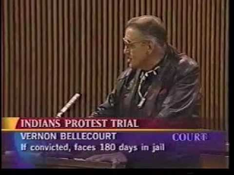 Bellecourt vs. Cleveland Indians - Court TV part 1