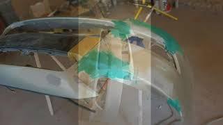 лансер 10 ремонт бампера