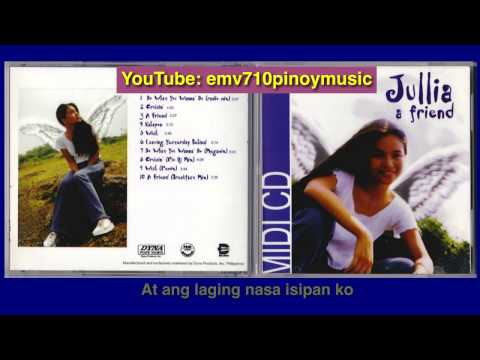 Kahapon - Julia Clarete (with Lyrics)