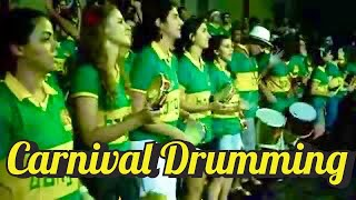 INCREDIBLE STREET CARNIVAL DRUMMING: BATUCADA AT ITS BEST