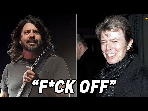 Dave Grohl's Shocking Final Exchange With David Bowie