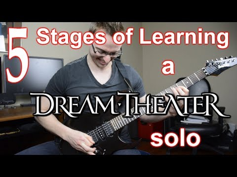 Guitar Fail - 5 Stages of Learning a Dream Theater Solo