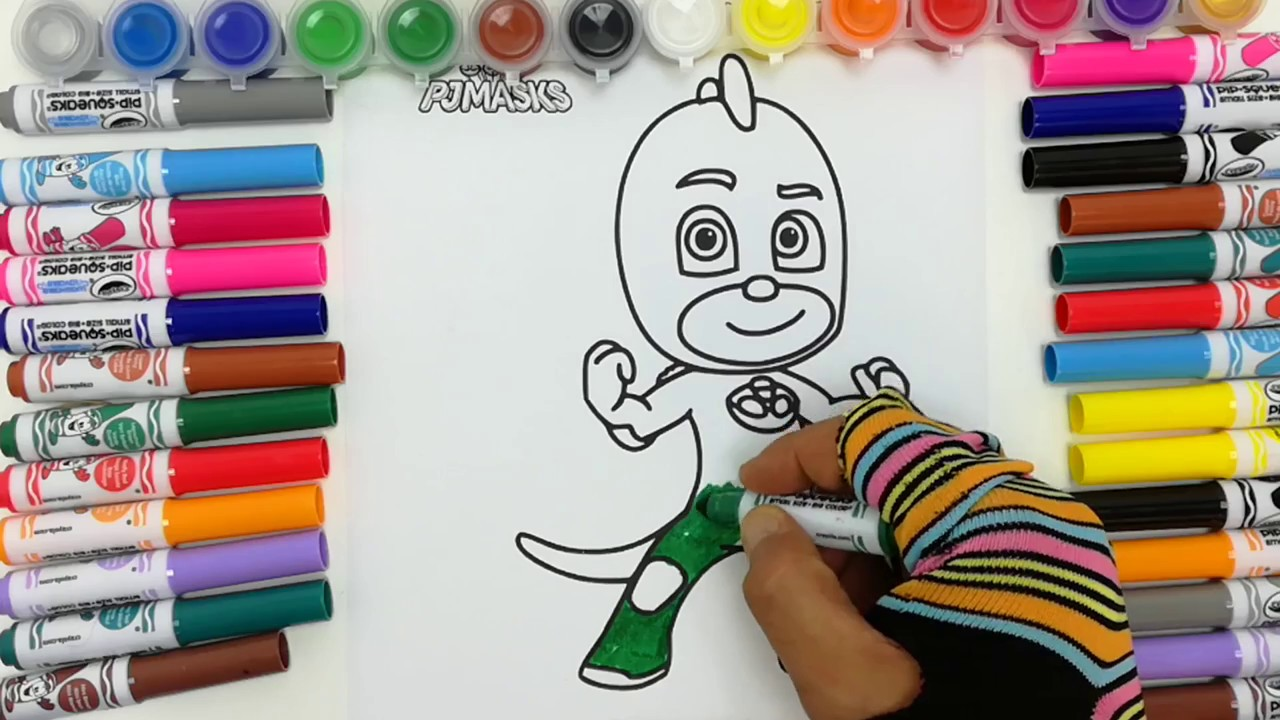 Super pigiamini italiano da colorare pj masks coloring for Immagini super pigiamini da stampare