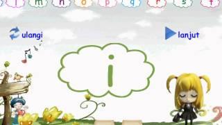 Belajar Membaca Huruf Alfabet Untuk Anak Usia Dini [Video HD]