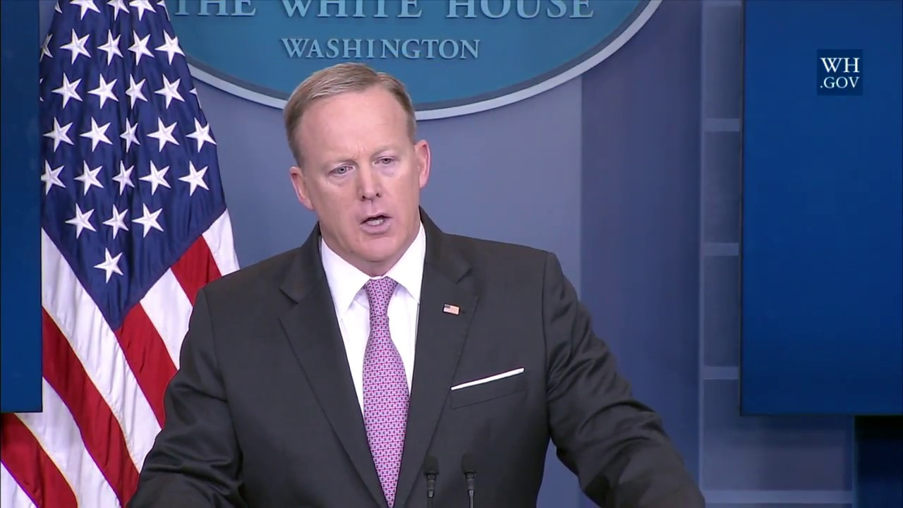 4/13/17: white house press briefing - youtube