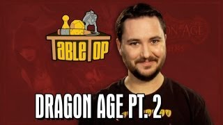 Dragon Age: Chris Hardwick, Kevin Sussman, and Sam Witwer on TableTop, episode 19 pt. 2