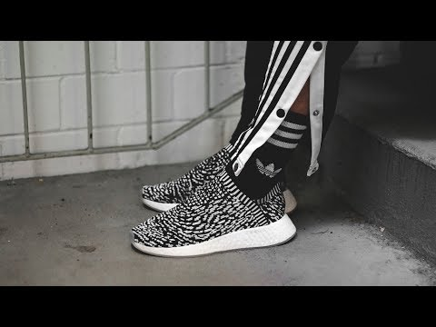 8e05f0b1e ADIDAS NMD CS2 PK SASHIKO BY3012 - MATE - YouTube