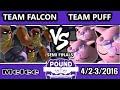 Pound 2016 - Team Jigglypuff Vs. Team Captain Falcon - Mono-Character Crews - SSBM